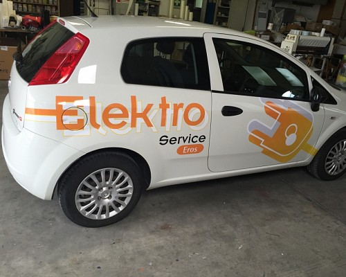 decorazione automobile Elektro