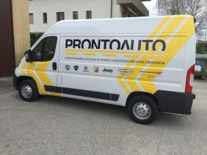 decorazione furgone ProntoAuto